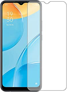 For OPPO A15s Tempered Glass screen Protector with Nano technology fixable - Clear