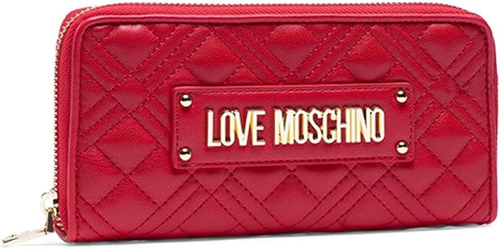 Love moschino portafogli da donna portca carte di credito in ecopelle AS21MO20