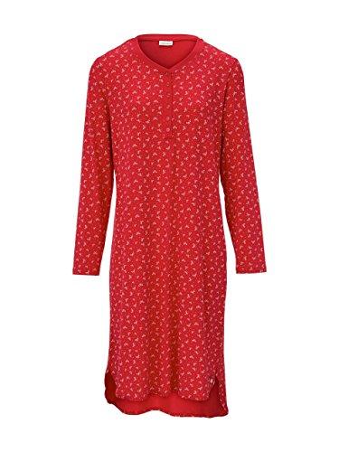 Seidensticker Damen 1/1, 100cm Nachthemd, Rot (rot 500), 38