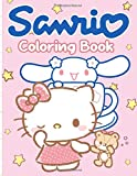 Sanrio Coloring Book: Collection Adults Coloring Books Color To Relax