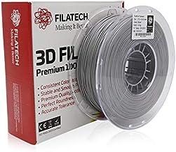Filatech FilaPLA (Heavy Duty PLA) Filament-1.75mm-Silver-1.0KG - Made in UAE