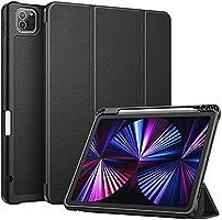 Fintie SlimShell Kılıf iPad Pro 11 inç (3. Nesil) 2021 için - Kalem Tutuculu Yumuşak Esnek TPU Stant Arka Kapak, iPad...