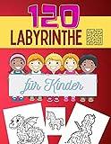 120 Labyrinthe für Kinder: Wer findet den Weg - 120 Spannende und aufregende Labyrinthe für Kinder ab 5 Jahren - inkl. Prinzessin, Einhorn und Drachen Labyrinthe