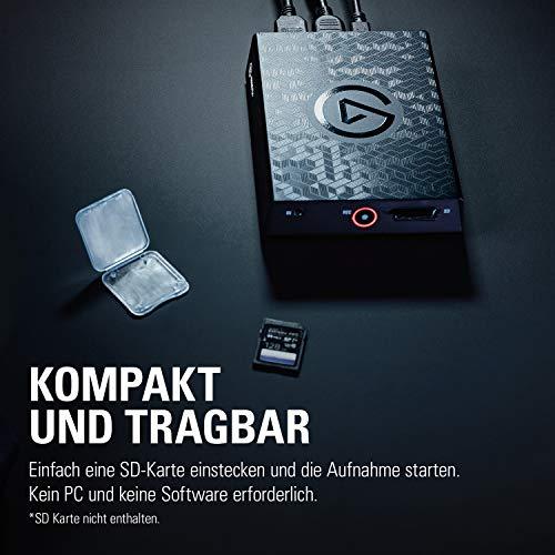 Elgato 4K60 S+ Aufnahme in 4K60 HDR10 auf SD-Karte, verzögerungsfreie Weiterleitung des 4K60 HDR Signals, PS5/PS4, Xbox Series X/S, Xbox One X/S - 6