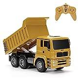 RC-Muldenkipper, 1:16 Allradantrieb-Fernbedienung Muldenkipper-LKW, schweres Baufahrzeug, Hobby-Spielzeug - Geschenk für Kinder , Maximale Belastung: ca. 1 kg