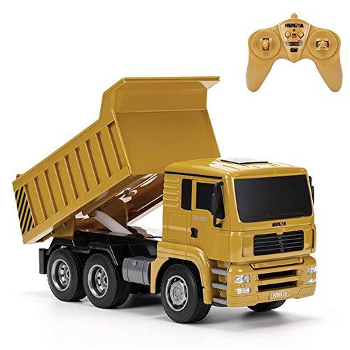 RC Auto kaufen Baufahrzeug Bild: RC-Muldenkipper, 1:16 Allradantrieb-Fernbedienung Muldenkipper-LKW, schweres Baufahrzeug, Hobby-Spielzeug - Geschenk für Kinder , Maximale Belastung: ca. 1 kg*