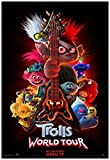 Trolls World Tour Movie Poster 24 x 36 Inches USA Shipped Print - Ready for Display (2020)
