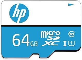【Amazon.co.jp 限定】HP microSDXCカード 64GB カラー Class10 UHS-I対応 (U1) 最大読出速度100MB/s 1年間保証 HFUD064-1U1-CS GJP