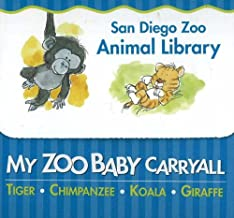 My Zoo Baby Carryall: Tiger, Chimpanzee, Koala, Giraffe