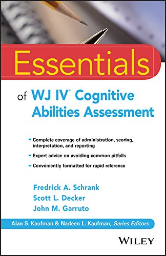 Essentials of WJ IV Cognitive Abilities Assessment (Essentials of Psychological Assessment) (English Edition)