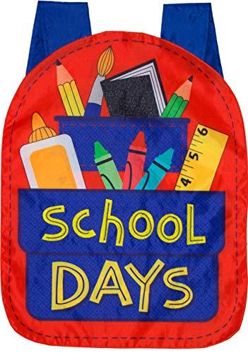 Briarwood Lane School Days Fall Applique Garden Flag Back to School 12.5' x 18'