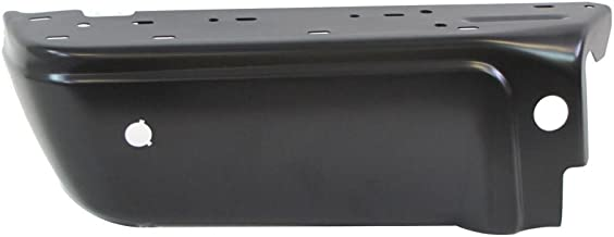 REAR STEP BUMPER BLACK END (WITH SENSOR HOLES) LH FO1104123