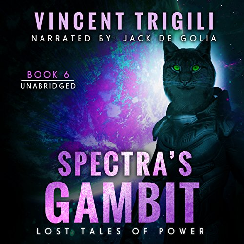 Spectra's Gambit audiobook cover art