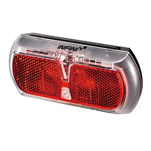 Infini Apollo lámpara LED de portaequipajes, Rojo, 10 x 4 x