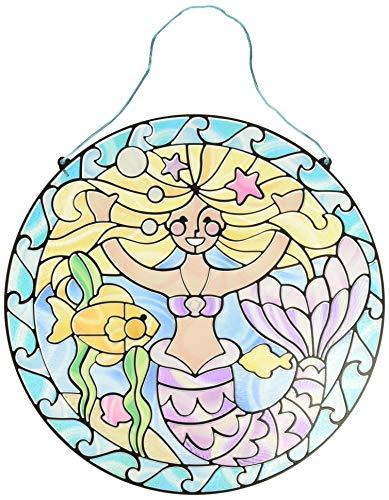 Melissa & Doug Glasmalerei leicht gemacht - Meerjungfrau