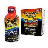 5-hour ENERGY Shot, Regular Strength Grape, 1.93 oz 24 count