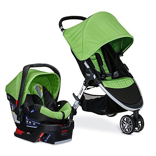 Britax 2017 B-Agile 3 Stroller & B-Safe 35 Infant Car Seat - Meadow