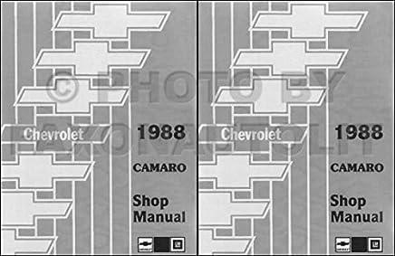 1988 camaro 2 vol  set factory repair shop &