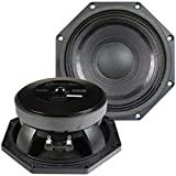 American Bass Godfather 8' Midrange Car Speaker, 500 Watt Maximum Power, Mid Bass Car Audio Stereo Woofer Loudspeaker, 8 inch 4 Ohm Voice Coil