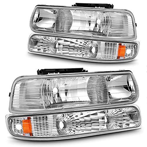 02 silverado headlight assembly - 3
