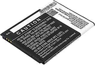 Cameron Sino 1800mAh Replacement Battery for Samsung Galaxy J1 Ace 3G Duos, Samsung Galaxy J1 Ace Dual SIM 3G, Samsung Galaxy J1 Ace, Samsung SM-J110, Samsung SM-J110H