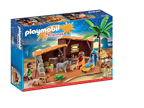 PLAYMOBIL 5588 - Christmas Belen, Mehrfarbig
