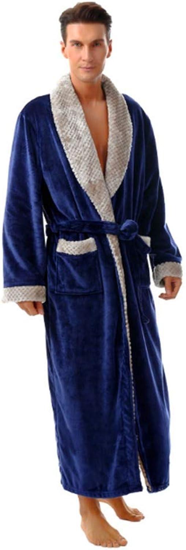 NAN Liang Unisex Bathrobe 100% Pure Luxury Bathrobes Cotton Wrap OokoTEX Certified (M  XXL) (color   B, Size   XXL)
