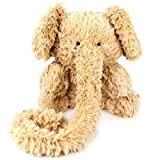 Winsterch Fluffy Elephant Stuffed Animal Plush Elephant Toy Kid Gifts, Baby Doll,Elephant Plush Toy,12 inches