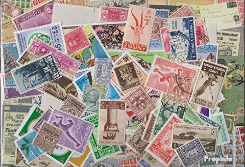Prophila Collection Italia 300 Diversi Francobolli (Francobolli per i Collezionisti)