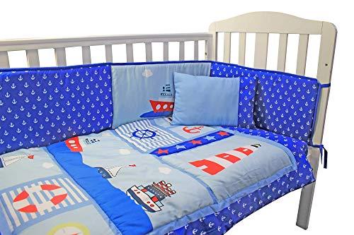 Parure de lit complète pour chambre d'enfant avec drap-housse, drap-housse et taie d'oreiller