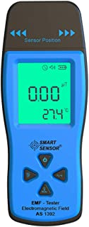 EMF Meter Electromagnetic Field Radiation Detector Handheld EMF Meter and Detector Digital LCD Display EMF Sensor Radiation Dosimeter