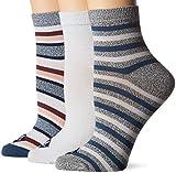 Sperry Top-Sider Women's American Socks, Blue Marl Assorted, Shoe Size: 5-10
