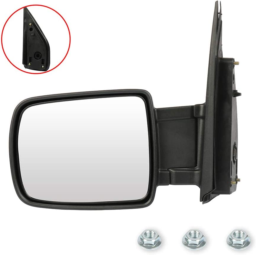 cciyu Exterior Driver Side Mirror Power F with Adjustment Manual ...