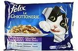 Felix Le Ghiottonerie Gatto con Coniglio e con Agnello, 4 x 100 g...