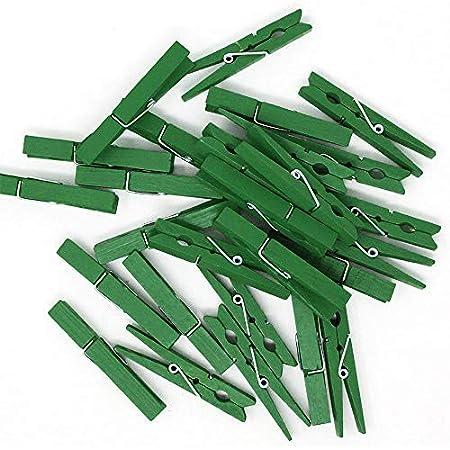 Pinzas de Ropa con Caja de Metal en dise/ño de Lavadora com-four/® 48x Pinzas de Ropa de pl/ástico Pinzas 048 Piezas - con Caja