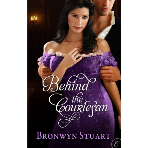 Behind the Courtesan audiobook cover art