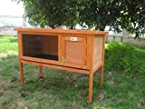 BUNNY BUSINESS New Single Rabbit/ Guinea Pig Pet Hutch House Shelter, 915 x 450 x 700 mm
