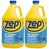 Zep Premium Pet Carpet Shampoo 128 ounce (Pack of 2) concentrated pro...