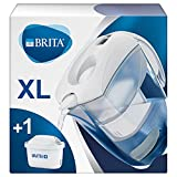 Brita 4006387076474 Carafe filtrante, Plastique, Blanc, Format XL