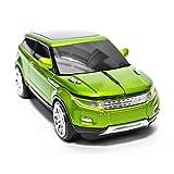 spectronix inalámbrico coche ratón óptico | con forma de Range Rover y diseño ergonómico | 2,4gHz 1600ppp, receptor Nano USB 10metros gama para portátil & PC Plug & Play en 4Vibrantes Colores