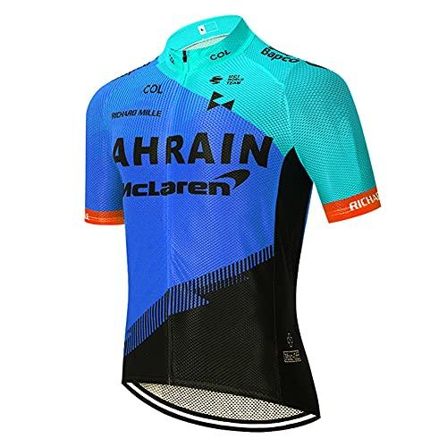 Ropa Ciclismo Verano para Hombre Camisa de Ciclismo Maillot Cortos