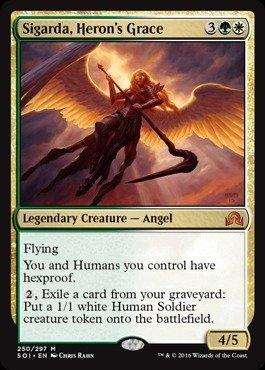 Magic The Gathering - Sigarda, Heron39;s Grace (250/297) - Shadows Over Innistrad