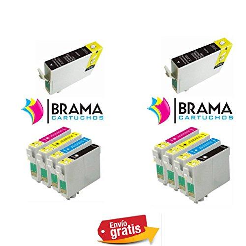 Bramacartuchos   10 X Cartuchos compatibles NON OEM