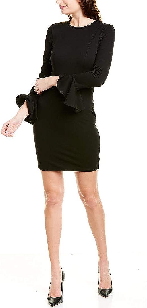 Ali & Jay Women's Long Sleeve Stretch Ponte Knit Sheath Dress