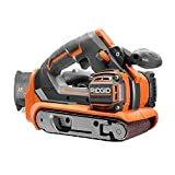 RIDGID 18-Volt GEN5X Cordless Brushless 3 in. x 18 in. Belt Sander (Tool-Only) with Dust Bag and (1) 80 Grit Sanding Bel (Renewed)