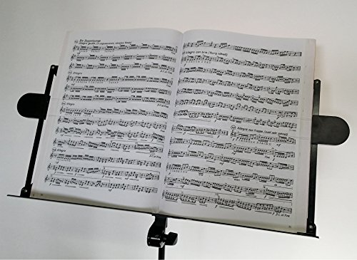 Notenhaltefix, Notenblatthalter I Hält die Notenblätter am Notenständer, auch bei Wind I Notenhalter, Notenklammer