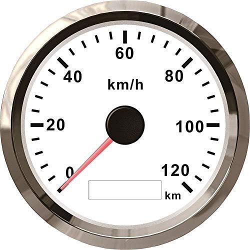 Calibre 85 mm GPS Velocímetro cuentakilómetros 120 kmh velocidad ATV UTV la...