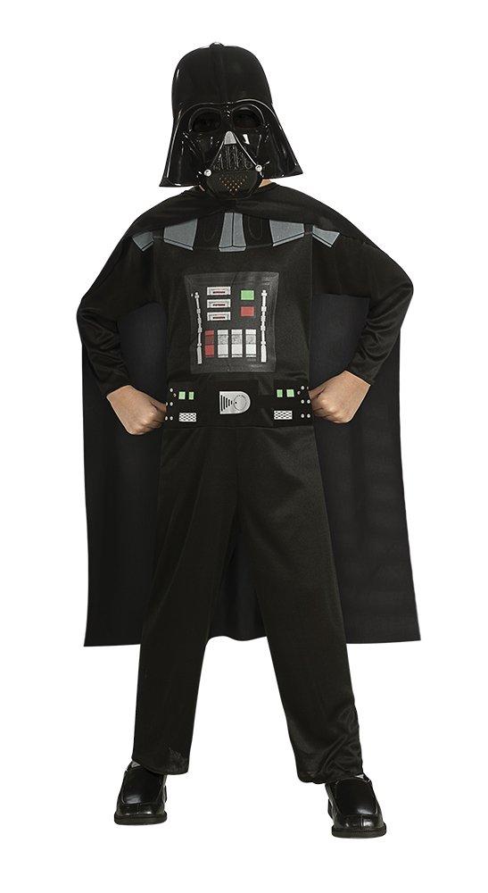 Star Wars - Disfraz de Darth Vader para niño, Talla S infantil 3-4 ...
