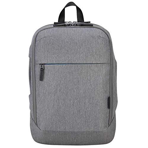 Targus CityLite Pro - Zaino convertibile compatto moderno per laptop da 12  a 15,6 , grigio (TSB937GL)