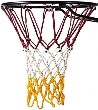 Mesh Nylon Basketball Net Goal Rim Net For Standard Basketball Rims F3P9